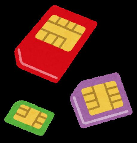 sim_card フリーイラスト